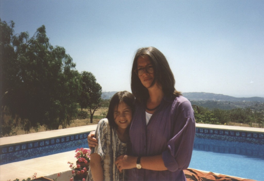 Soph and Nicola - Spain 1995